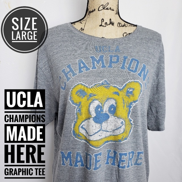adidas Other - ADIDAS UCLA CHAMPIONS MADE HERE  GRAPHIC TEE